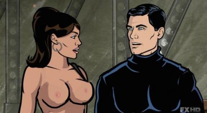 Sterling Malory Archer Porn